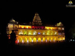 Chandragiri fort Lighting Show10 copy