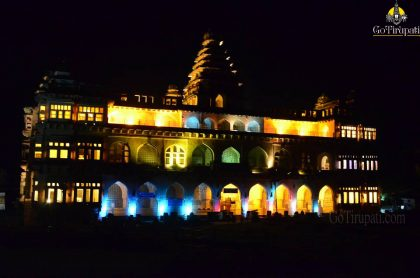 Chandragiri fort Lighting Show11 copy